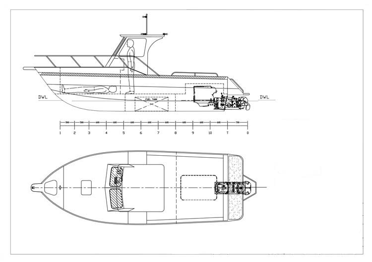 7.5m Jet Runabout