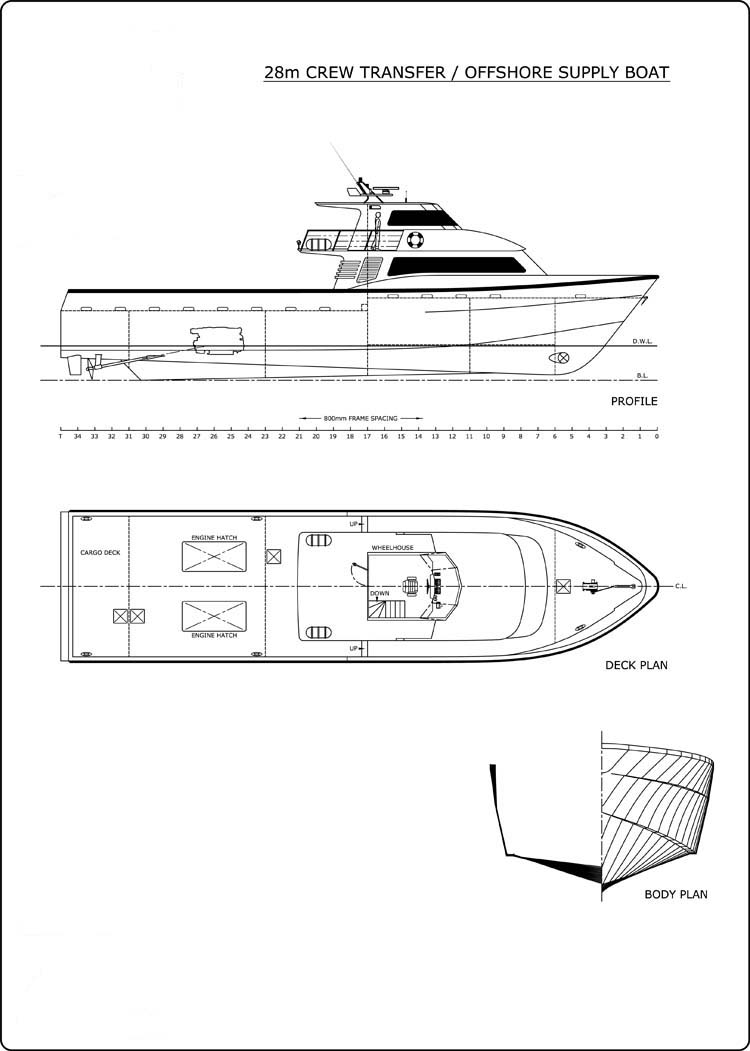 28m Supply Boat